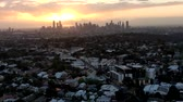 south australia : Aerial View Of Melbourne Cityscape During Sunset.