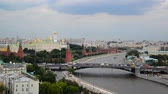 鐘楼 : View of the Kremlin and River Moskva, Russia