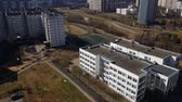administrativo : top view of Zelenograd administrative district in Moscow, Russia