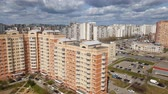 административное здание : Moscow, Russia - April 29. 2018. view of sleeping area in Zelenograd administrative district