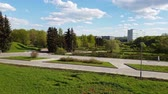 administrativo : Victory Park is city park in Zelenograd in Moscow, Russia