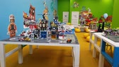 brinquedo : Moscow, Russia - May 15. 2018. Lego education - afterschool program