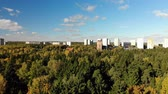 administrativo : Russia. sleeping area of Moscow surrounded by forests