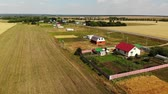 agronomia : Rural autumn landscape from height in Russia