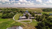 ortodoxie : Summer rural landscape with orthodox temple in Russia