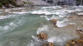 コー​​カサス : Fragment of a mountain river in Abkhazia 動画素材