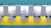 Ticket counter booth