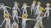śmieszne : Social app emoji dancing (Emoji based on open source Noto emoji)