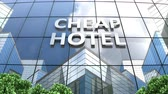 goedkoop : A cheap hotel building cloud time lapse