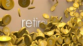 fon : Increasing retirement budget animation.