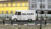 우편 : Delivery service vehicle 무비클립