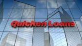 September 2017, Editorial use only, 3D animation, QuickenLoans Inc., logo on glass building.