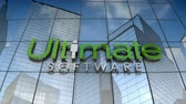 September 2017, Editorial use only, 3D animation, UltimateSoftware logo on glass building.
