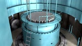 stacja paliw : Artist rendering, Nuclear reactor interior view, reactor, power.