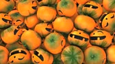 fruto : Halloween pumpkin drop, funny, background, season, celebration, happy.