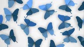 borboletas : Creative animation, butterflies, 3d, flat, origami, art, craft.