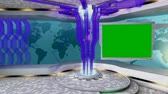 Virtual setstudio. tv, online, internet, background