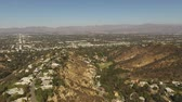 wealthy : Exlusive area of Sherman Oaks, California (Aerial View) Stock Footage