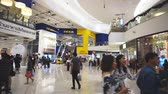 stok : Smut Prakan , Thailand - December 10,2017 : Unidentified peoples are walking front shop of IKEA Bangkok Store in Mega Bangna, Samut Prakan, Thailand. Ikea is the worlds largest furniture retailer store.Ikea is a slef service furniture store