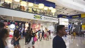 шведский : Smut Prakan , Thailand - December 10,2017 : Unidentified peoples are walking front shop of IKEA Bangkok Store in Mega Bangna, Samut Prakan, Thailand. Ikea is the worlds largest furniture retailer store.Ikea is a slef service furniture store