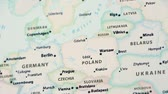 símbolos : Poland on a Political Map (with Defocus)