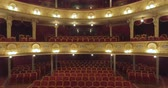 acoustics : Flying inside the Opera architecture Lviv CITY OPERA Theater, UKRAINE