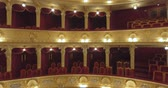 acoustics : Flying inside the Opera. Lviv CITY OPERA Theater, UKRAINE, - November 27, 2017