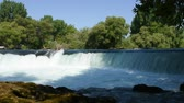 manavgat : Waterfall flowing with sound. Manavgat waterfall in Antalya - Turkey.