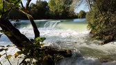 manavgat : Waterfall flowing with sound. Manavgat waterfall in Turkey.