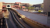 travel : A tram at the Las Vegas airport. Wideo