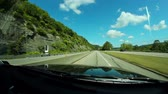 stráň : Driving on route 51 by the Ohio River in Pennsylvania near Pittsburgh. Dostupné videozáznamy