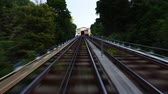 stráň : Time lapse shot of a passengers view while traveling up the Monongahela Incline. Dostupné videozáznamy