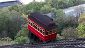 stráň : The Duquesne Incline carries passengers down Mount Washington on Pittsburghs South Side.  In 4K UltraHD.