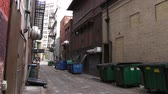 pittsburgh : An alley in downtown Pittsburgh,  In 4K UltraHD.