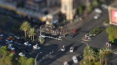 pecado : A high-angle tilt shift of the Las Vegas Strip during the day.