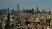 A summer daytime to dusk timelapse of the Midtown Manhattan skyline. Stock Footage