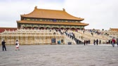 4K, Timelapse video, The Forbidden City Palace in Beijing, the capital of China, Time Lapse