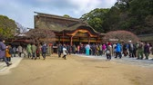 буддист : People are traveling in Dazaifu Shrine in Fukuoka, Japan