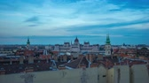 európa : Budapest skyline day to night time lapse