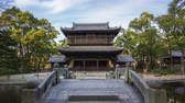 храм : Time lapse video of Shofukuji temple in Fukuoka, Japan timelapse