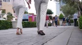 faaliyetler : People walking on Las Vegas strip.