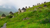 Ancient Alanian necropolis in North Ossetia
