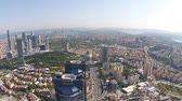 ahmet : Aerial istanbul turkey business center levent