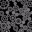 negócio : an animated cogwheel pattern background