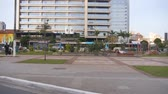 buidling : A Small Park In The City - Sao Paulo - From Moving Car - Side Angle