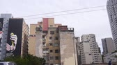 buidling : Sao Paulo - Buildings From Moving Car - Side Angle