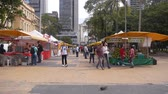 buidling : Sao Paulo - Day Market In The Middle Of Buildings