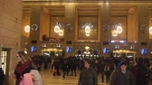 vstupenka : People Walking In Grand Central Station - Tilt - Up To Down