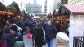 vitrin : People In Christmas Market - Slide - Up Right To Down Left