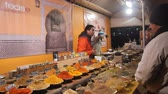 kereszt : Spices On Night Market Stand - Slide Forward